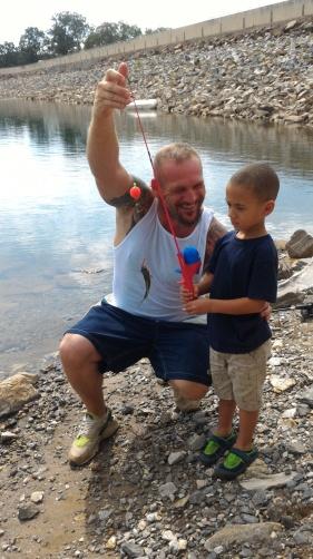 Fishing in Hiawassee, GA